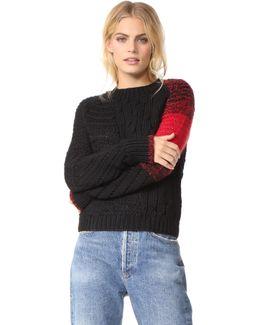 Punk Patchwork Sweater