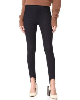 Pull On Stirrup Jeans