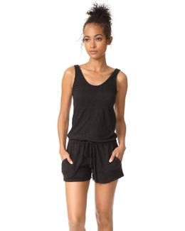Tank Romper With Pockets