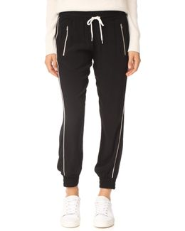 Track Pants With Elastic Waistband