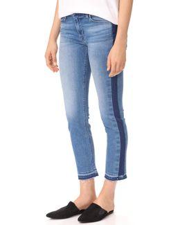 Tilda Midrise Crop Cigarette Jeans