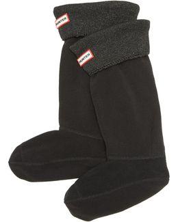 Glitter Cuff Boot Socks