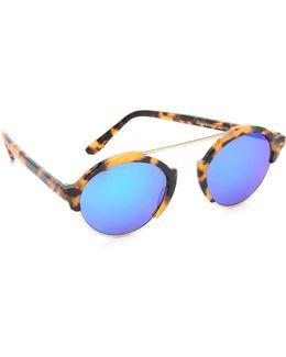 Milan Iii Mirrored Sunglasses