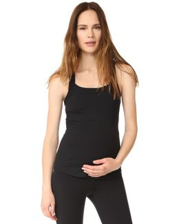 Active Racerback Maternity Tank