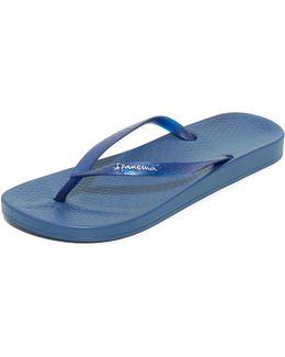 Ana Tan Flip Flops