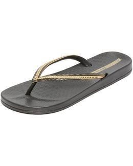 Ana Metallic Ii Flip Flops