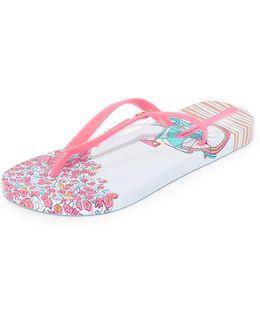 Bouquet Flip Flops