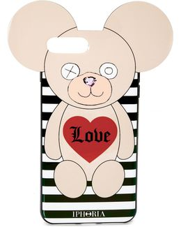 Teddy Love Stripes Iphone 7 Plus Case
