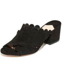 Calista Block Heel Mules