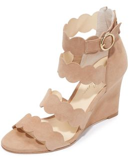 Paloma Wedge Sandals