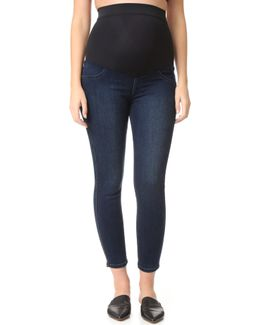 Twiggy Ankle Maternity Legging Jeans