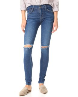 Mid Rise James Twiggy Legging Jeans