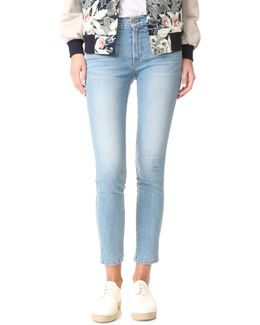 Mid Rise James Twiggy Ankle Jeans