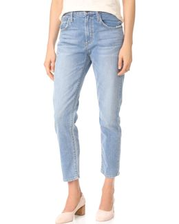 Donna High Rise Mom Jeans