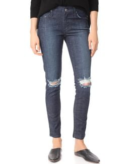 James Twiggy Mid Rise Legging Jeans