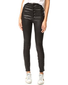 Natasha Leather Pants