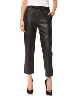 Amari Leather Pants