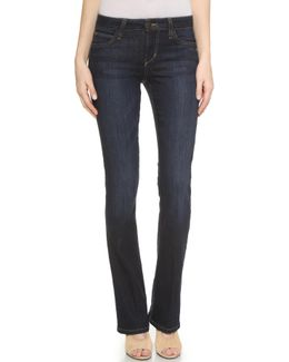 Honey Curvy Fit Boot Cut Jeans