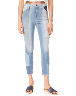 The Bella Straight Crop Jeans