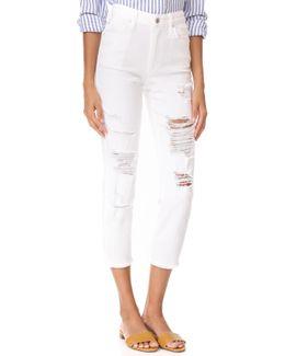 Debbie Boyfriend Crop Jeans