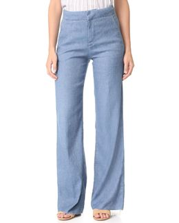 The Bessie Wide Leg Trouser Jeans