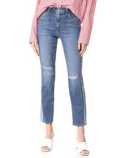 The Kass Cigarette Ankle Jeans