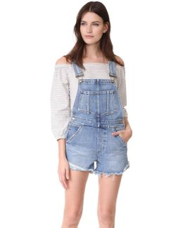 X Taylor Hill The Short Overalls