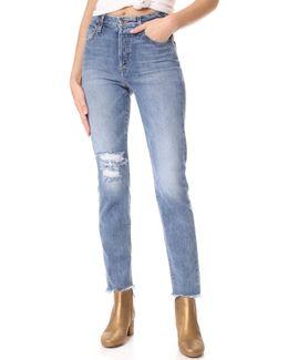 X Taylor Hill Debbie Ankle Jeans