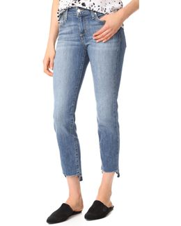 The Cigarette Ankle Jeans