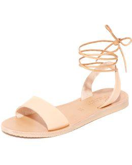 Pietra Wrap Sandals