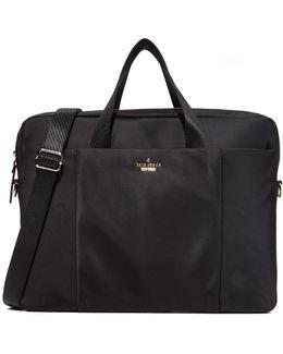 "Classic Nylon 15"" Laptop Case - Black"