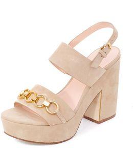 Rashida Platform Sandals