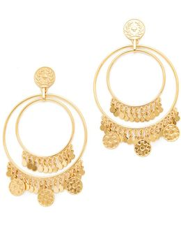 Flip A Coin Statement Earrings