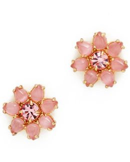 Brilliant Bouquet Stud Earrings