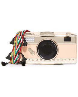 Camera Leather Applique Iphone 7 Case