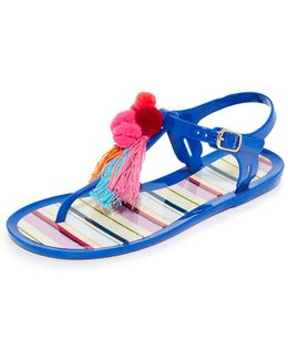 Yellowstone Jelly Sandals