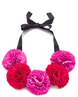 Fiesta Floral Statement Necklace