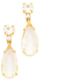 Crystal Cascade Drop Earrings