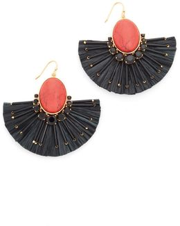 Fiesta Fringe Statement Earrings