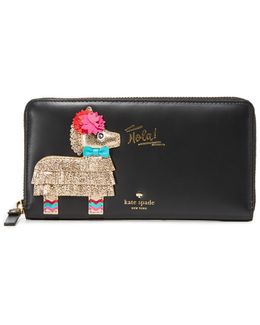 Piñata Applique Wallet