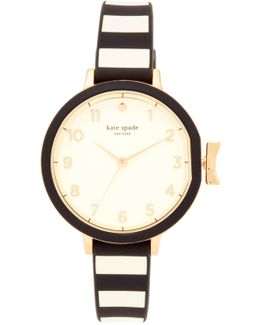 Park Row Silicone Watch