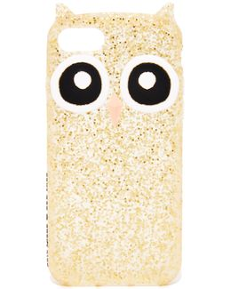 Silicone Owl Iphone 7 Case