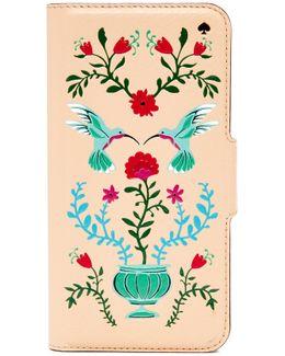 Hummingbird Folio Iphone 7 Case