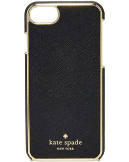 Leather Inlay Iphone 7 Case