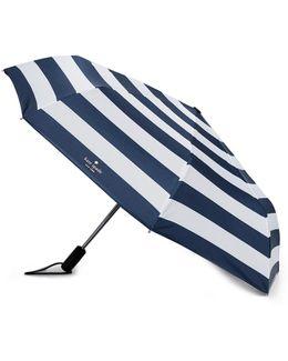 Jubilee Stripe Travel Umbrella
