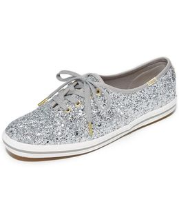 X Keds Glitter Sneakers