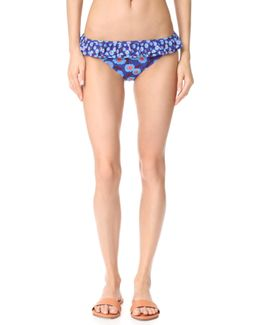 Double Ruffle Classic Bikini Bottoms
