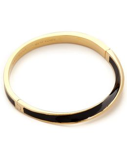 Do The Twist Hinged Bangle Bracelet
