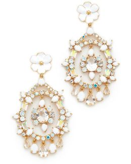 Garden Party Statement Earrings