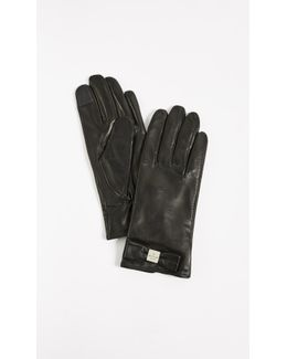 Hardware Bow Tech Gloves